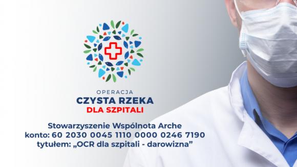 Operacja Rzeka 2020 odwołana. Rusza zbiórka Operacja Rzeka dla Szpitali