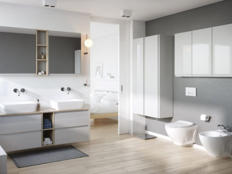 Jak połączyć łazienkę z sypialnią? Niestandardowe wnętrze, które zachwyca