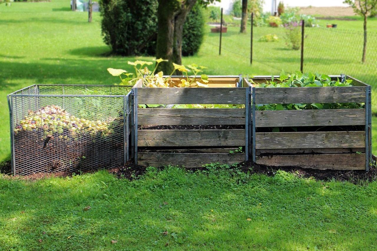 Kompostowanie w ogrodzie